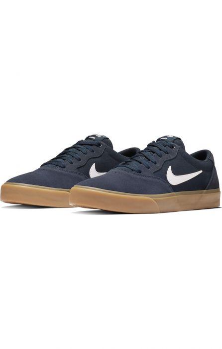 Nike Sb Shoes CHRON SLR Obsidian/White 40