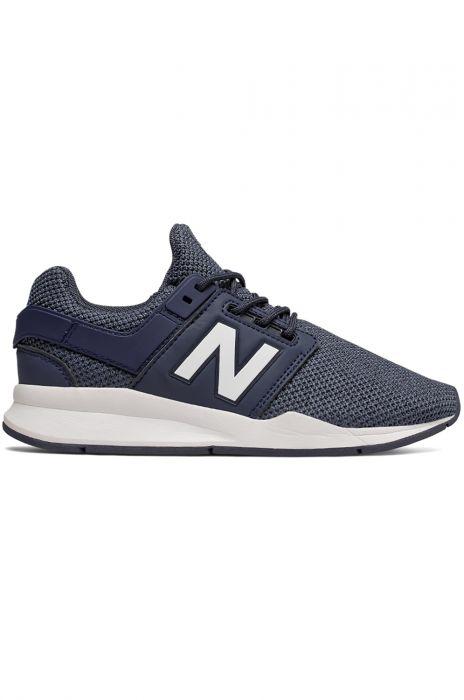 Coherente evaporación Independiente  New Balance Shoes GS247 Navy