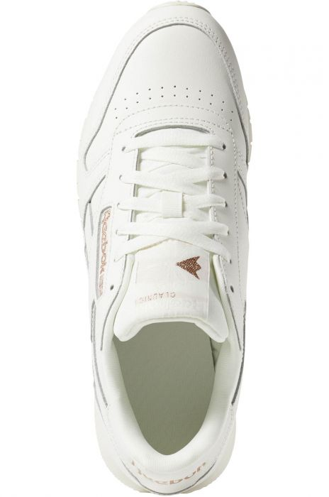 e2373e20cff Reebok Shoes CL LTHR Cv-Chalk Rose Gold Paper White 35