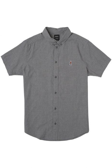 reputable site 96a22 74bd3 RVCA Shirt ANP TWIST SS DMOTE Black