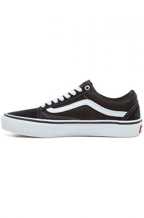 e99b1b3223205 Tenis Vans OLD SKOOL PRO Black/White