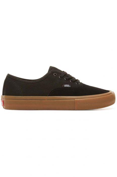 e546c6ea3c Vans Shoes MN AUTHENTIC PRO Black Classic Gum