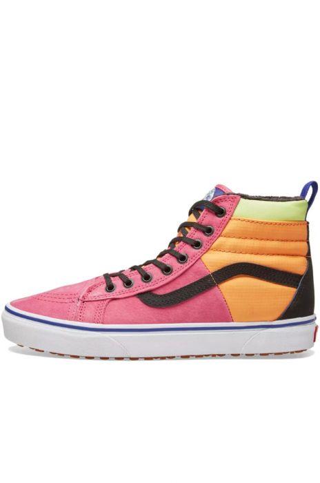 94897e8ef164 Vans Shoes SK8-HI 46 MTE DX (Mte) Pink Yarrow Tangerine Black 36