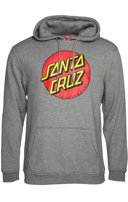 f159bbf8 Sweat Capuz Santa Cruz CLASSIC DOT Dark Heather