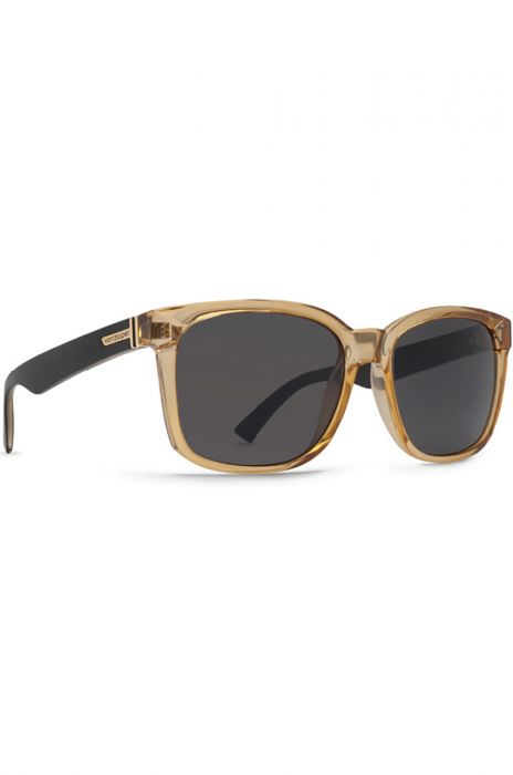 e27658757ec8 VonZipper Sunglasses HOWL Black Buff Crystal   Grey
