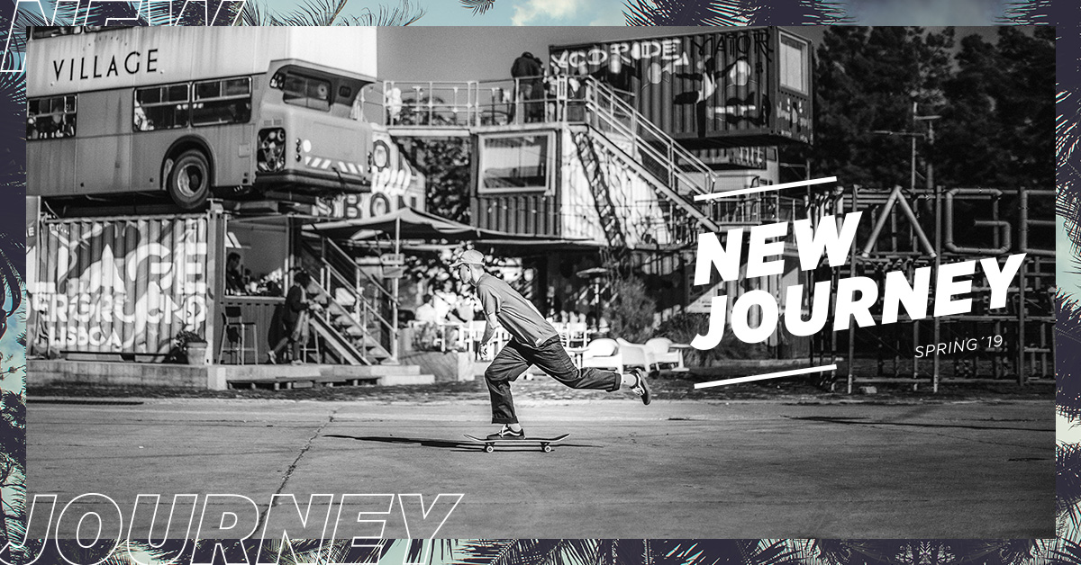 """A primavera chega à Ericeira Surf & Skate com """"New Journey"""""""