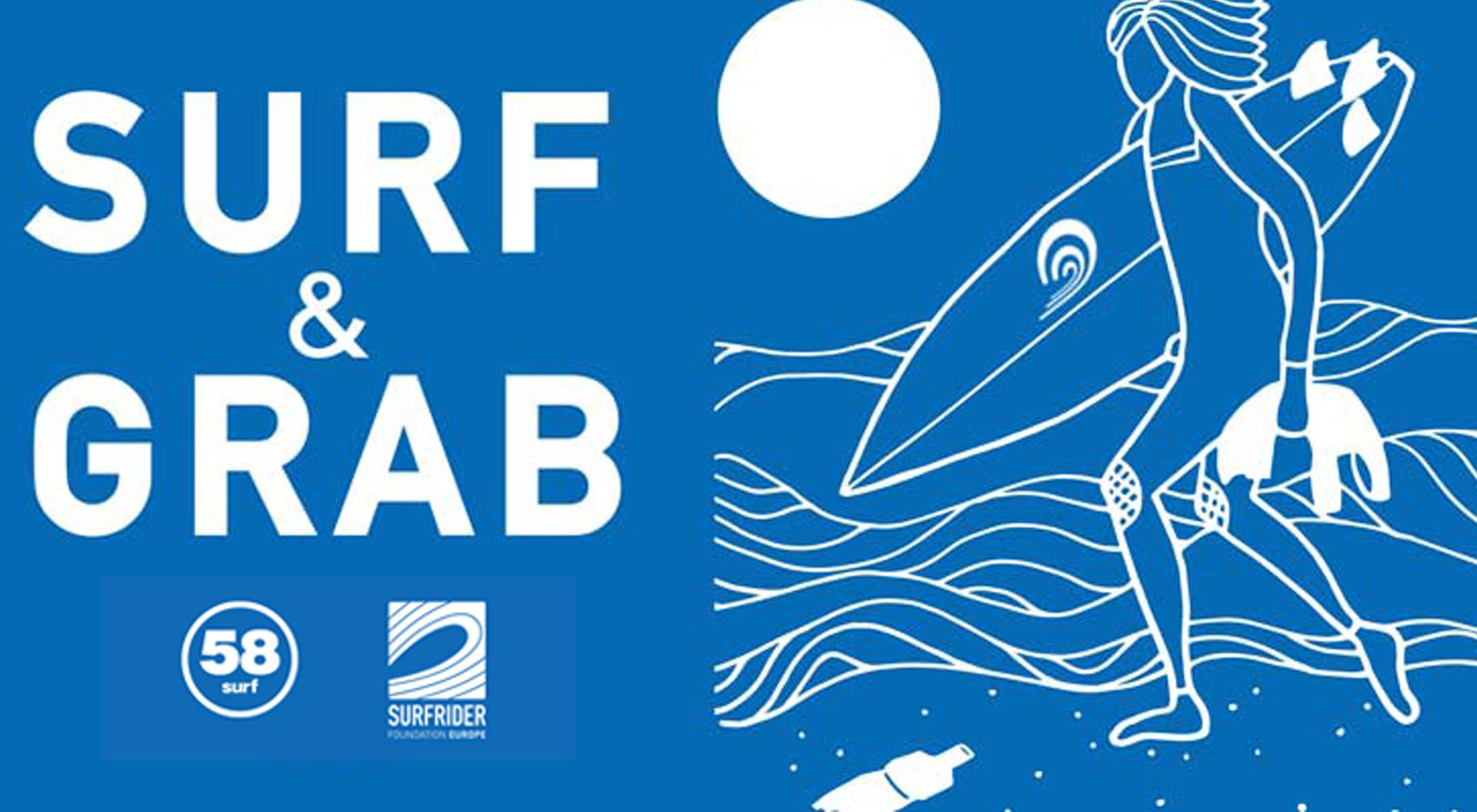 SURF & GRAB: 58 Surf apoia projeto da Surfrider Foundation Portugal
