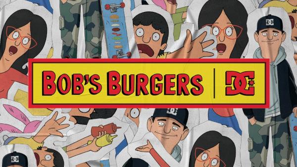 DC Shoes x BOB'S Burgers Collection