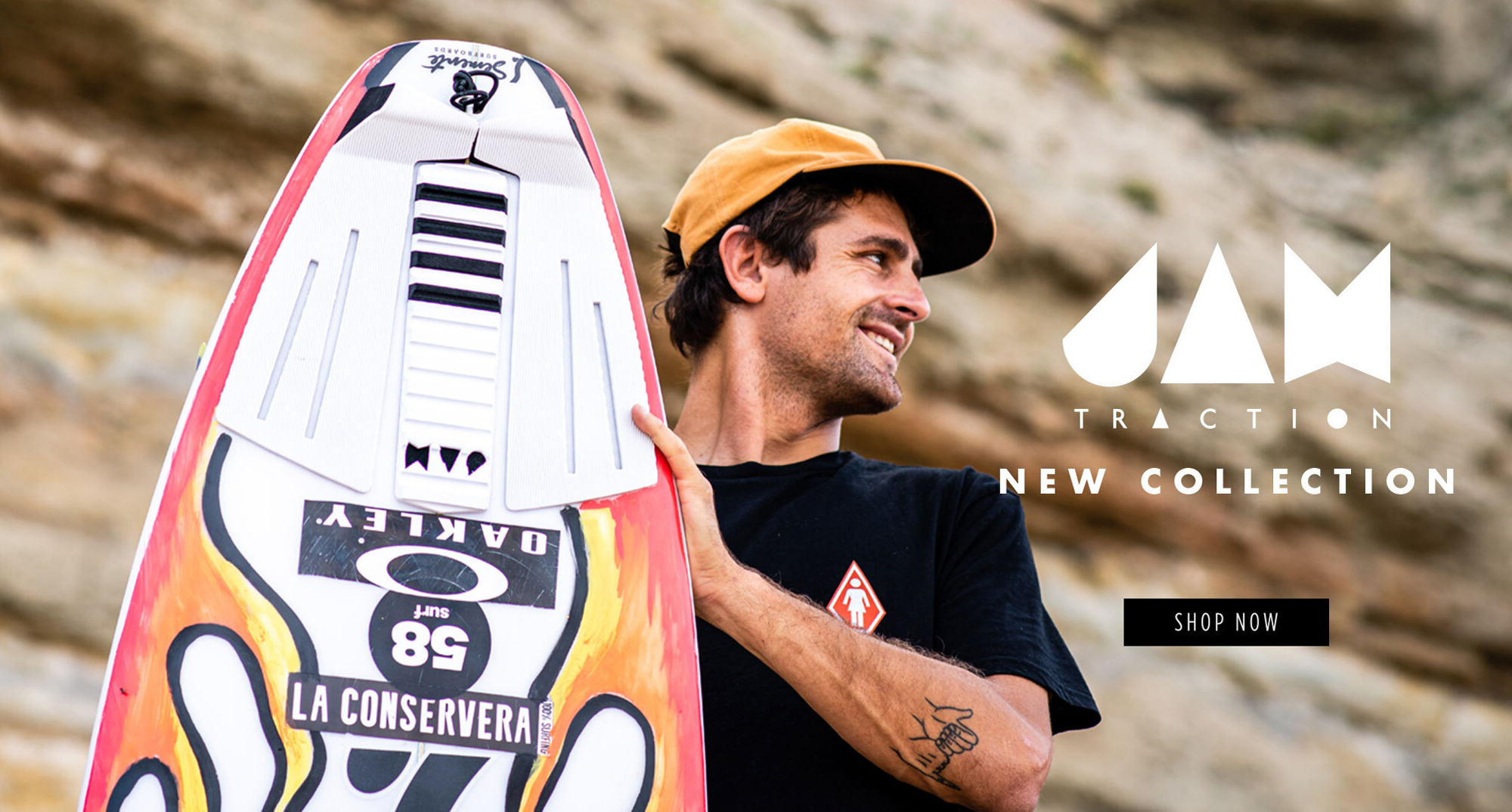 JAM new collection available in 58 Surf